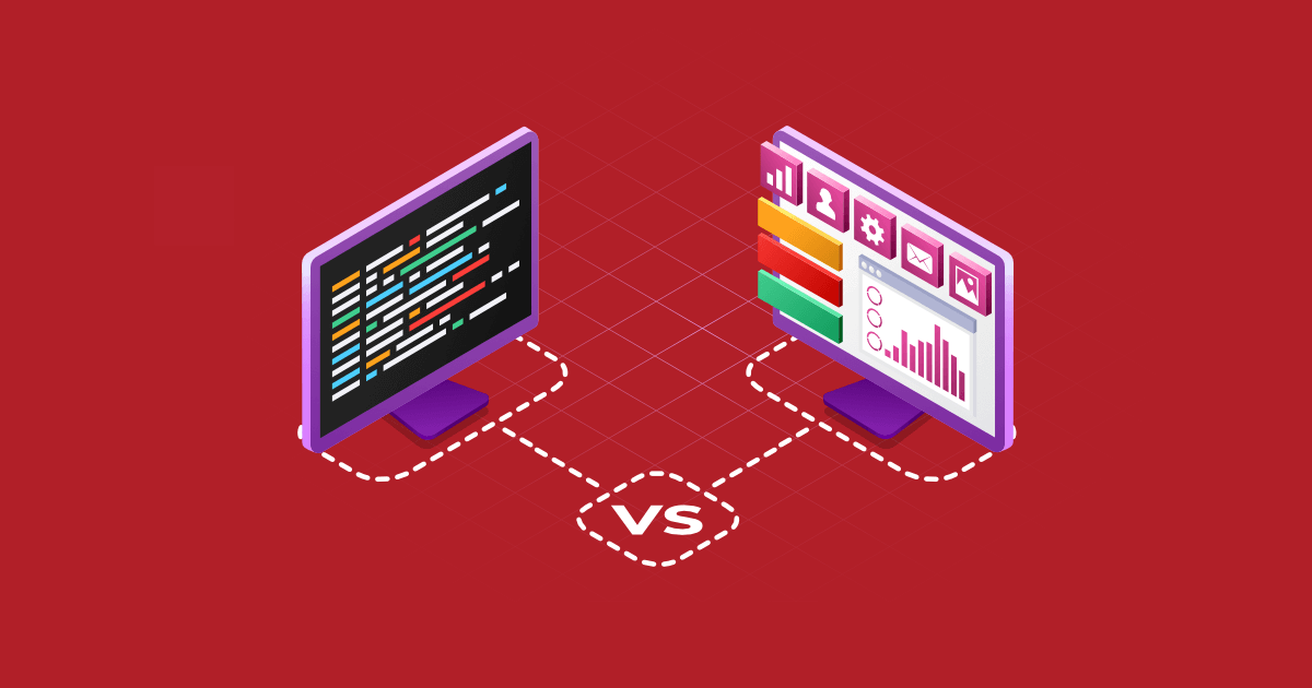 Low-code vs No-code